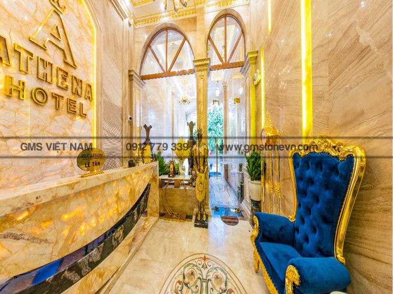 Khách sạn Athena Quy Nhơn đá granite tự nhiên