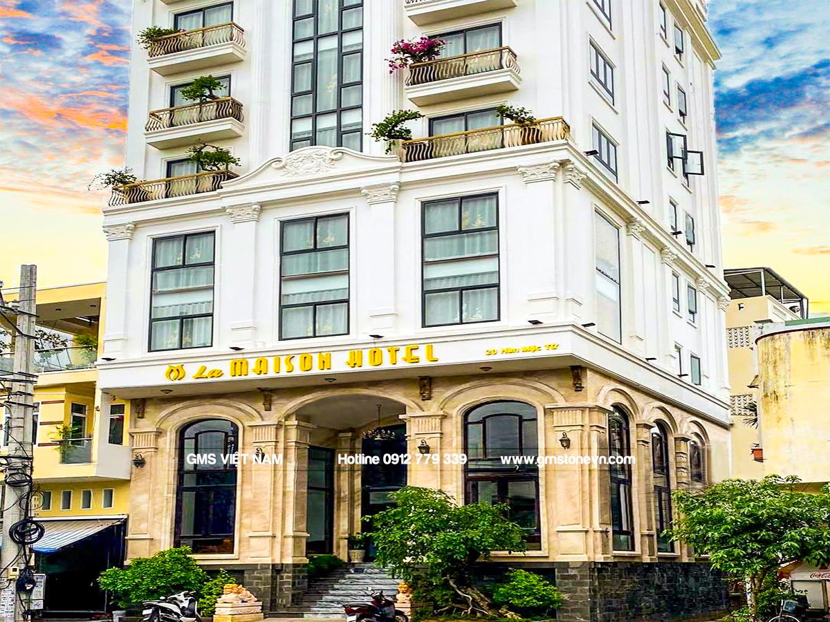 Khách sạn La maison Quy Nhơn đá granite tự nhiên 2